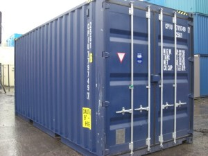 20 pieds High Cube Container