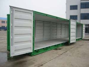 container op lateral posterior 40 ft. Open Side NEUF
